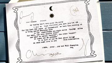Ogłoszenia w gazetach i listy do fanów. Coldplay powraca w zaskakujący sposób