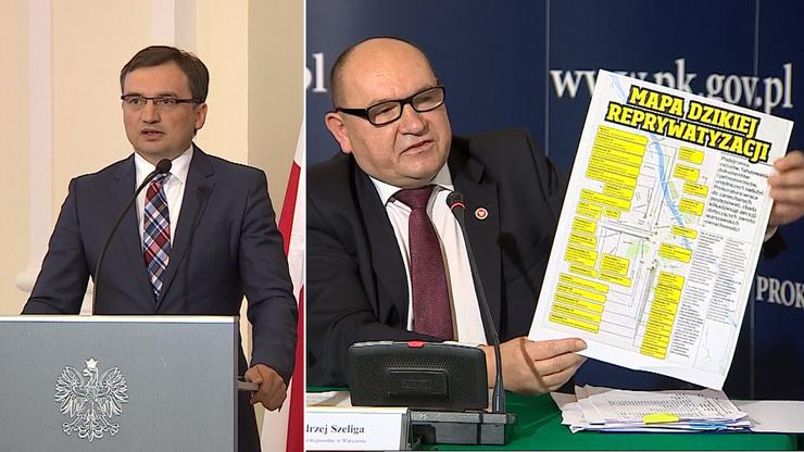 Ziobro: kilkadziesiąt kolejnych śledztw ws. dzikiej reprywatyzacji w Warszawie