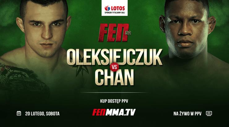 FEN 32: Cezary Oleksiejczuk poznał rywala w debiucie w nowej organizacji