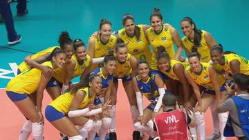 Liga Narodów siatkarek 2021: Brazylia – Kanada. Relacja i wynik na żywo