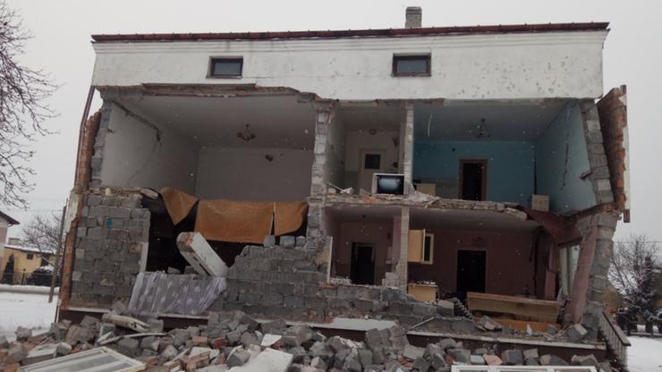 Olszewnica Nowa: wybuch gazu w domu. Ranna starsza kobieta