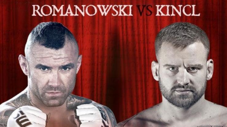 KSW 61: Tomasz Romanowski zmierzy się z Patrikiem Kinclem