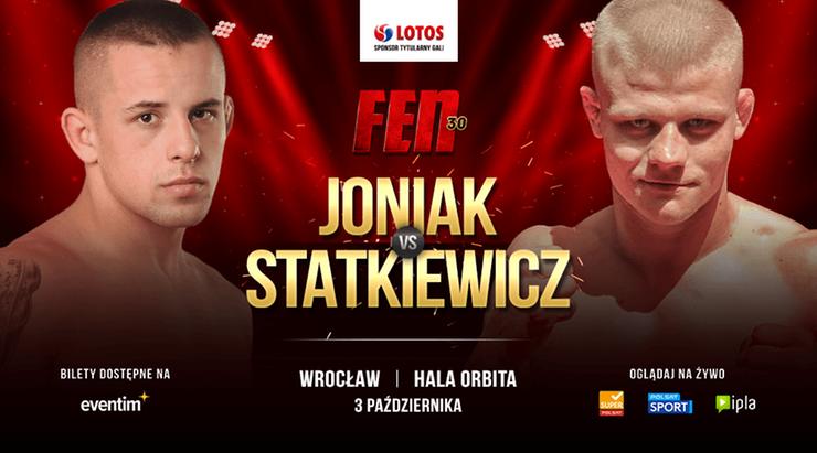 FEN 30: Mariusz Jonak kontra Rafał Statkiewicz na kolejnej gali!
