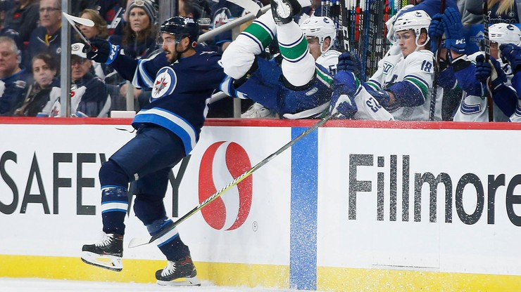 Vancouver Canucks zrewanżowali się Golden Knights