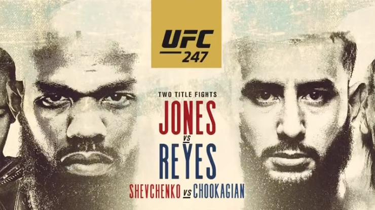 UFC 247: Jones - Reyes. Transmisja w Polsacie Sport