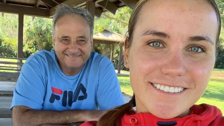 Czołowa tenisistka zwolniła trenera z powodu wyników. To jej ojciec