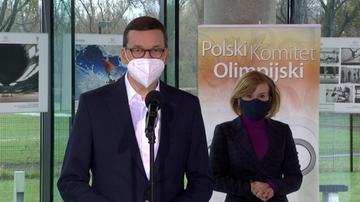 Morawiecki: olimpijczycy i piłkarze zostaną zaszczepieni