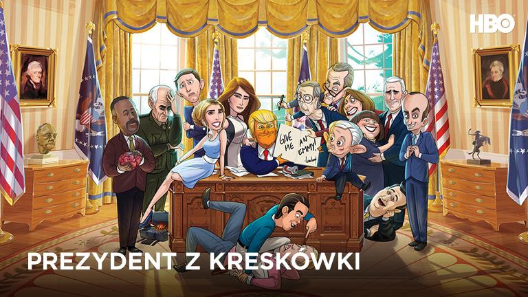 Prezydent z kreskówki