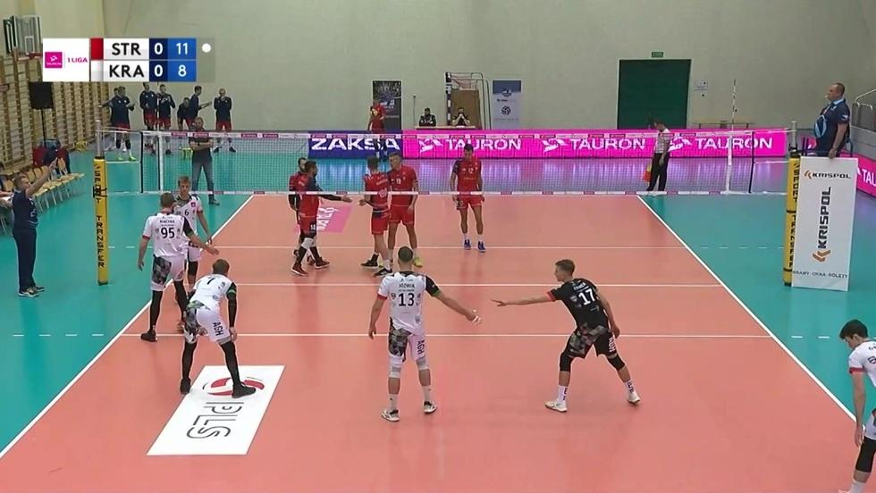 ZAKSA Strzelce Opolskie - AZS AGH Kraków