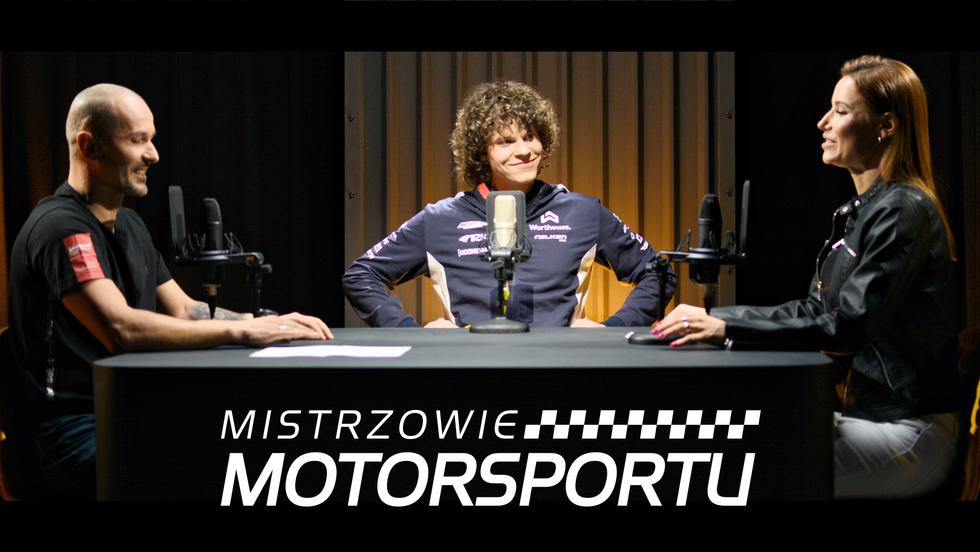 Mistrzowie Motorsportu - Piotr Więcek