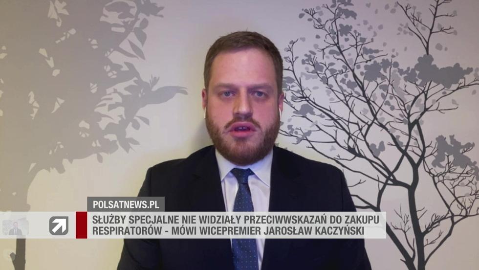 Gość Wydarzeń - Janusz Cieszyński