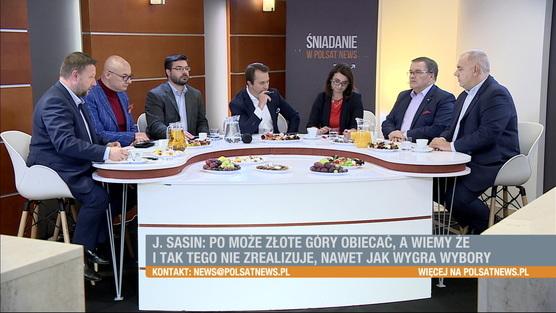 Śniadanie w Polsat News - 9.09.2018