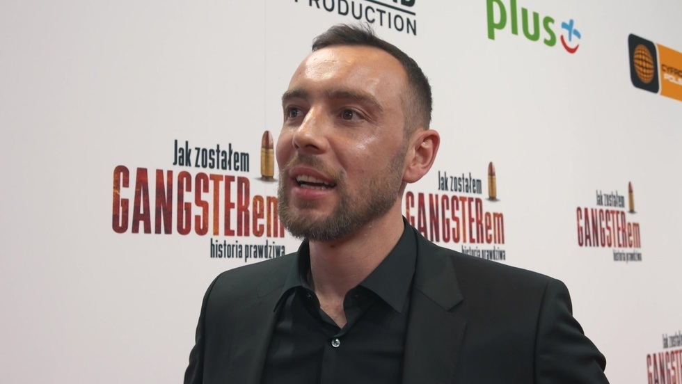 """Marcin Kowalczyk o fabule filmu """"Jak zostałem gangsterem. Historia prawdziwa"""""""