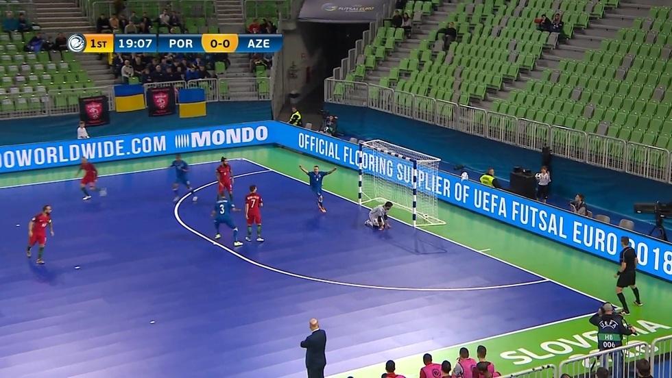 Portugalia - Azerbejdżan, skrót meczu