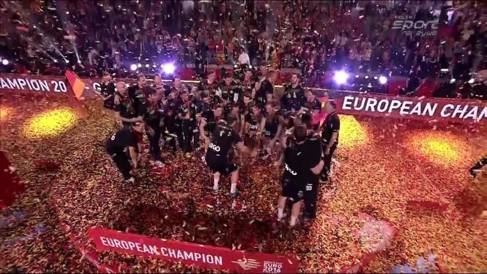 Ceremonia medalowa EHF Euro 2016