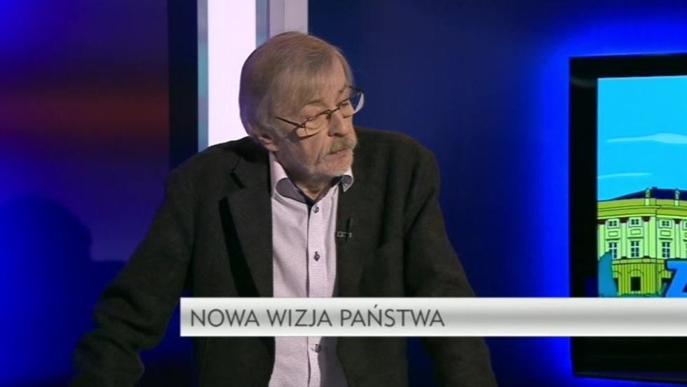Krzywe zwierciadło - prof. Zbigniew Mikołejko