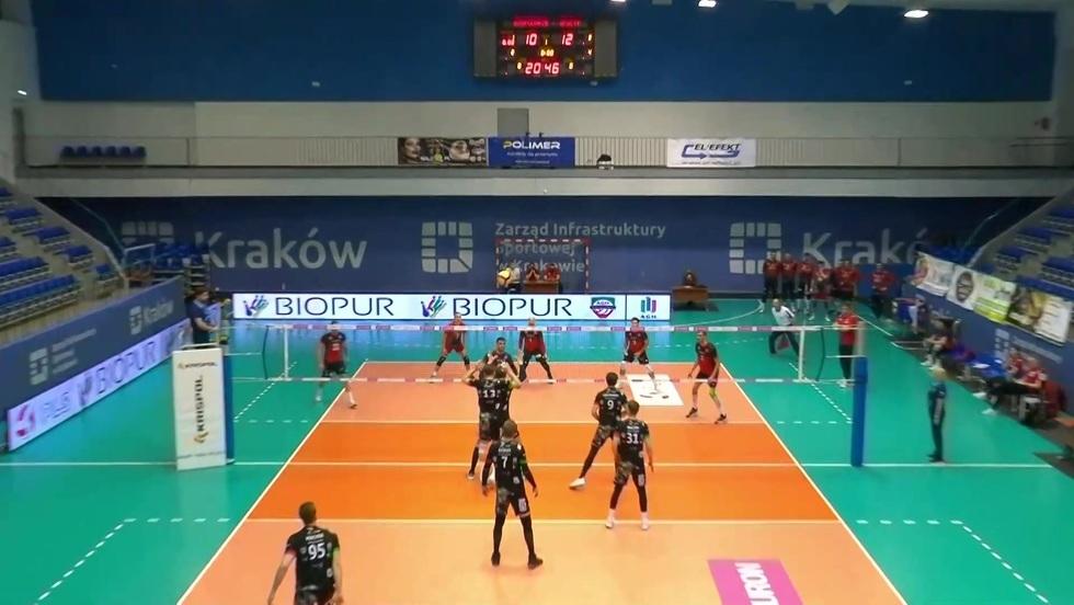AZS AGH Kraków - Mickiewicz Kluczbork